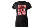 Custom women's Grow The Game t-shirt