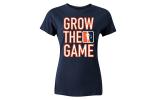 Custom women's Grow The Game t-shirt