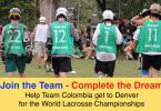 Colombia lacrosse Denver 2014 fundraiser