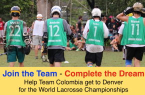 Colombia lacrosse Denver 2014 fundraiser