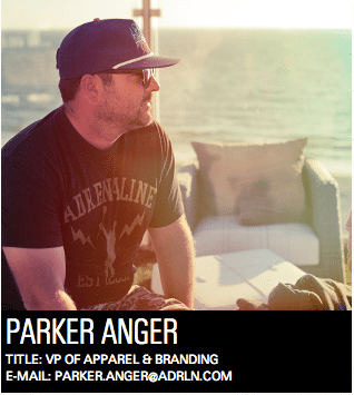 Parker Anger, Adrenaline Lacrosse