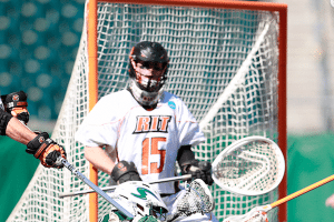 Pat Johnson Goalie RiT lacrosse