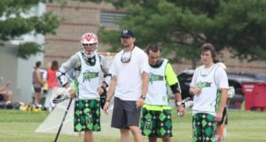 Sam Lane Maineiax lacrosse coach
