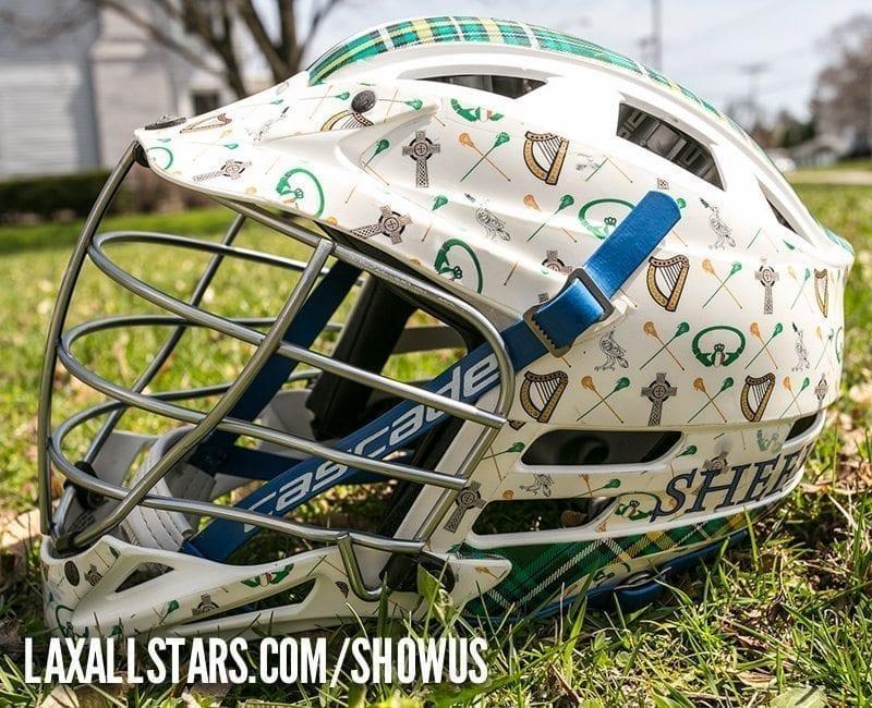 Tim Sheehan lacrosse helmet