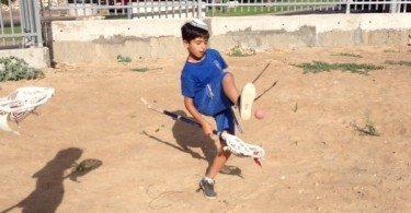 Israeli lacrosse player