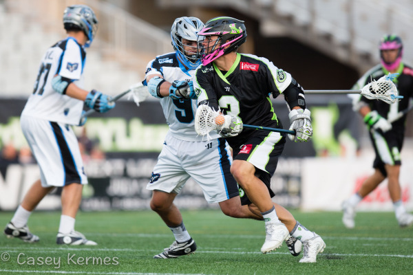 Ohio Machine vs. New York Lizards Photo Credit: Casey Kermes
