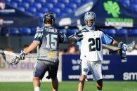 Kip Turner, Logan Schuss Ohio Machine vs. Chesapeake Bayhawks 2014 Photo Credit: Craig Chase