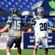 Kip Turner, Logan Schuss Ohio Machine vs. Chesapeake Bayhawks 2014 Photo Credit: Craig Chase