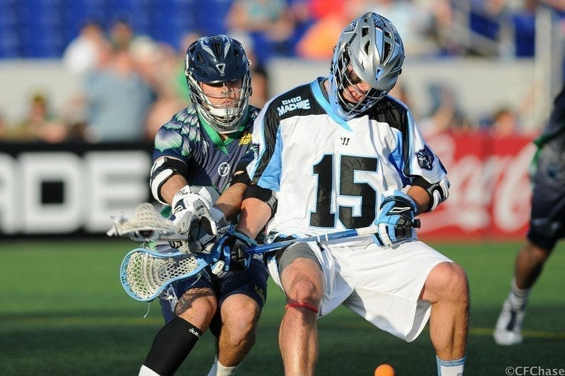 Peter Baum Ohio Machine vs. Chesapeake Bayhawks 2014 Photo Credit: Craig Chase
