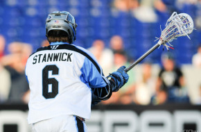 Steele Stanwick Ohio Machine vs. Chesapeake Bayhawks 2014 Photo Credit: Craig Chase hidden ball trick