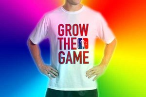 Custom Grow The Game Lacrosse Apparel