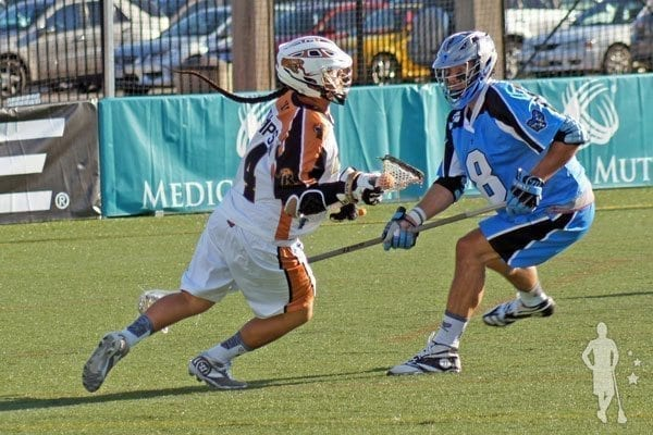 Miles-Thompson-Ohio-Machine-Rochester-Rattlers Major League Lacrosse