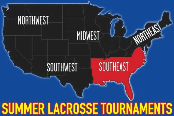 Southeast Summer Lacrosse Tournaments