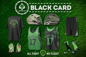 Adrenaline lacrosse Black Card gear