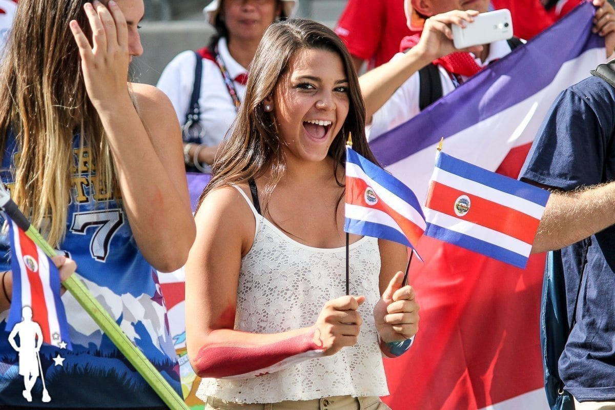 Costa Rica - 2014 World Championships Opening Ceremony