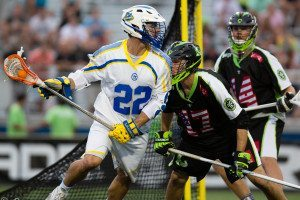 New York Lizards vs. Florida Launch Credit: Casey Kermes MLL Players Use Orange Sticks