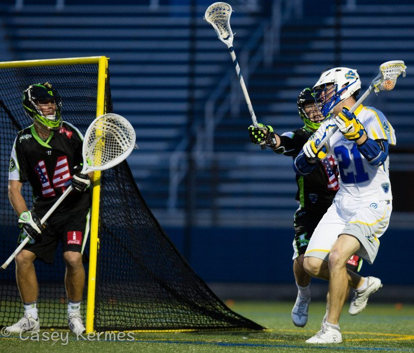 New York Lizards vs. Florida Launch Credit: Casey Kermes