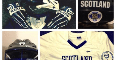 Scotland lacrosse international gear