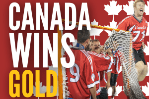 Canada lacrosse wins gold