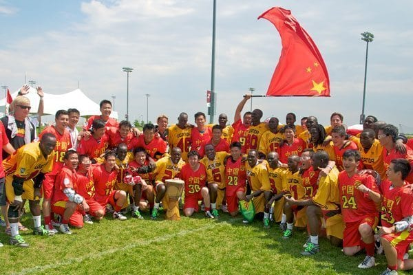 China Uganda Lacrosse Teams