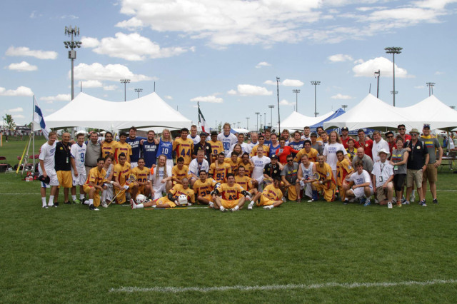 Colombia vs Finland 2014 World Lacrosse Championship Credit: Finland