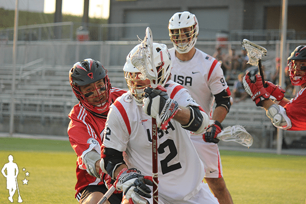 Canada vs United States 2014 World Lacrosse Championship Gold Medal Game U and V shooters
