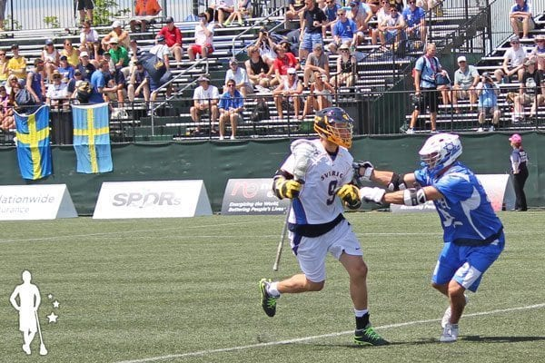 Israel Lacrosse vs Sweden 2014 World Lacrosse Championship
