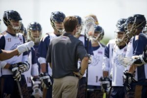 Thailand Lacrosse Team Huddle