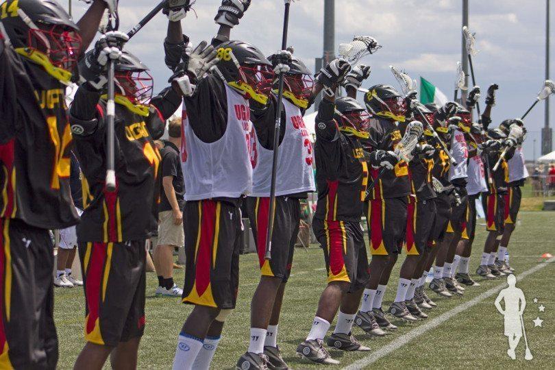 Uganda vs Ireland 2014 World Lacrosse Championship