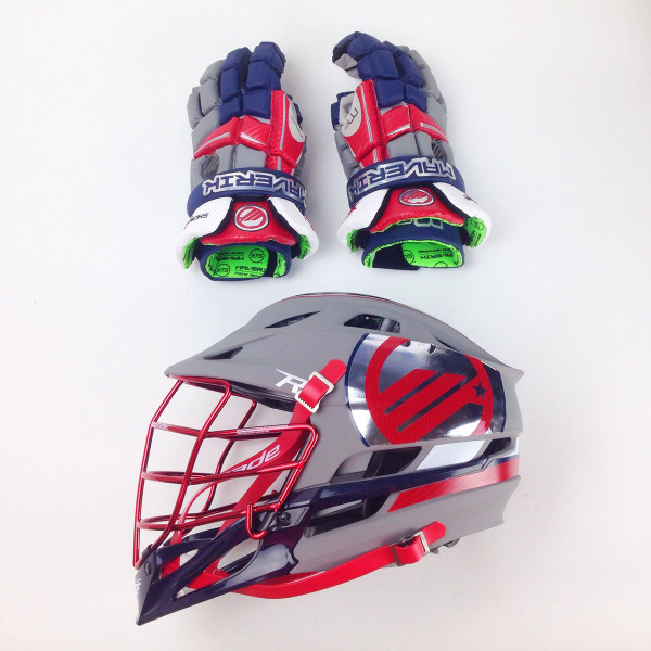 Maverik M3 gloves and Cascade R Helmet