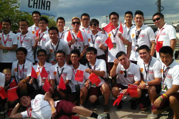 Team China 2014 World Championships