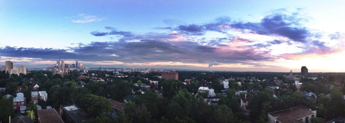 Denver sunrise - 2014 World Lacrosse Championships