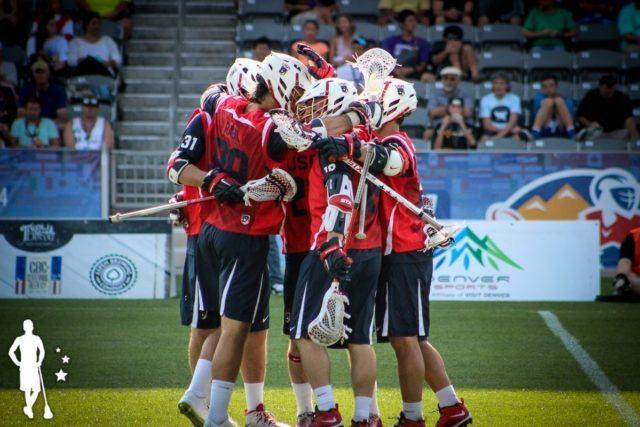 USA vs Australia - 2014 World Lacrosse Championship Semifinal Game Olympic Lacrosse