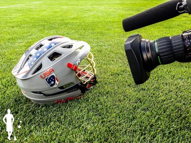 2014 Team USA Lacrosse Helmet
