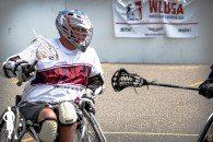 Wheelchair lacrosse