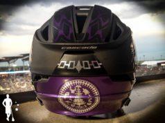 Iroquois Nationals Lacrosse Helmet NOCSAE Voids