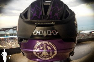 Iroquois Nationals Lacrosse Helmet