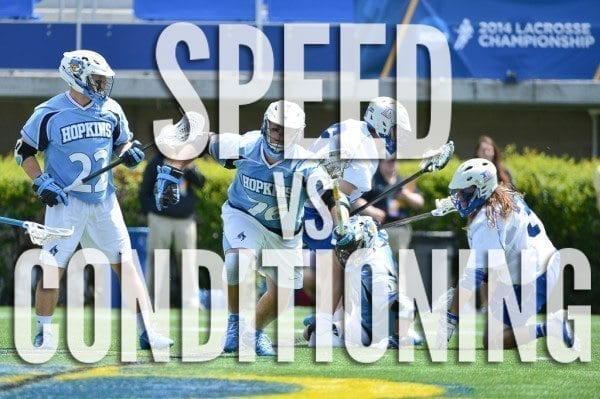 Speed and Conditioning
