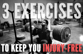 3 Exercises to help keep you injury-free