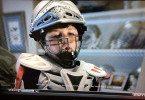 Warrior Paul Rabil lacrosse shoulder pads in DISH Network commercial