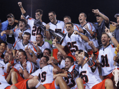 2014 MLL Championship Game Denver Outlaws vs. Rochester Rattlers 2015 Major League Lacrosse