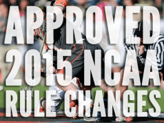 Approved rule changes for 2015 NCAA Mens lacrosse