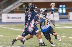 Laurentian vs University of Toronto Credit: SPORTSDAD Sports Photography CUFLA Lacrosse