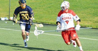 Kevin Powers Sweden Lacrosse