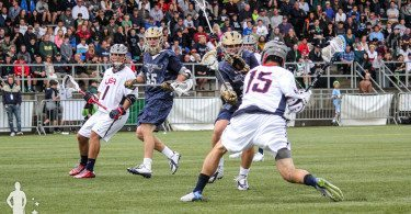 Seatown Classic US Men's National Lacrosse Team vs Notre Dame in Seattle, Washington 10.18.2015
