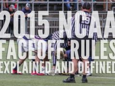 2015 NCAA Faceoff Rules