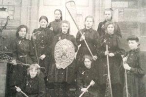 1900 St Leornars women's lacrosse Scotland