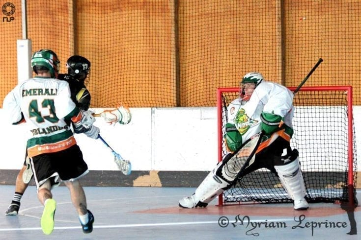 Boxmania, France Europe box lacrosse tournament