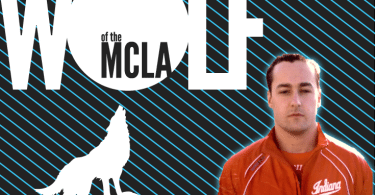 Jack Delaney, Indian University Wolf of the MCLA