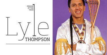 Lyle Thompson Person of the Year